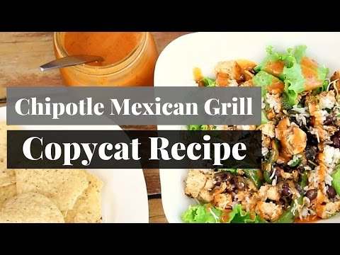 Chipotle Mexican Grill Salad Copycat Recipe | $5 Dinner
