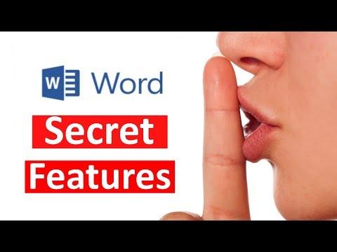 Top 20 Microsoft Word tips & Hidden Features