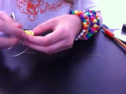 How to make a kandi pacman ghost