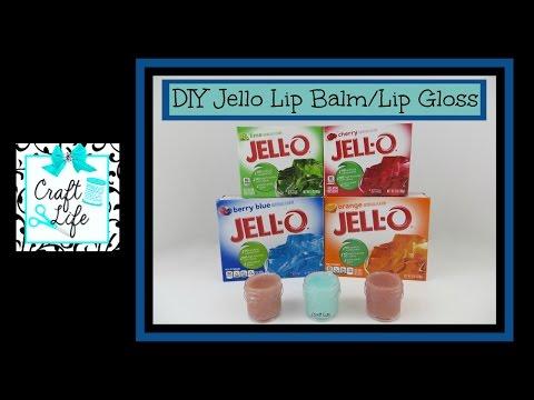 Craft Life ~ Jacy and Kacy DIY ~ Jello Lip Balm ~ Lip Gloss Tutorial