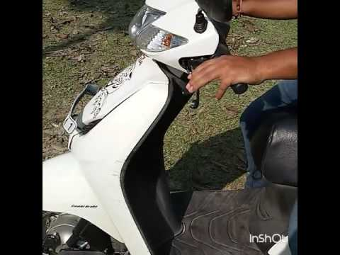 how to ride scooty for the first time