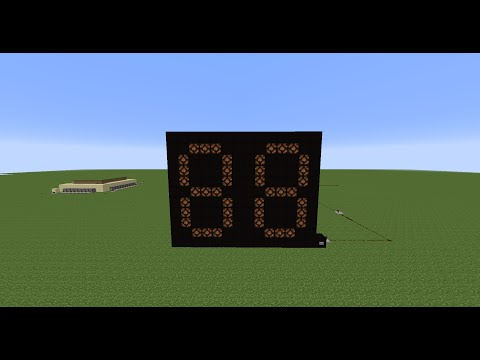 How to make a countdown clock in minecraft!