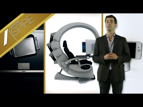 The Ultimate Gaming Chair, Gaggenau's Induction Cooktop, Galileo iPhone Accessory
