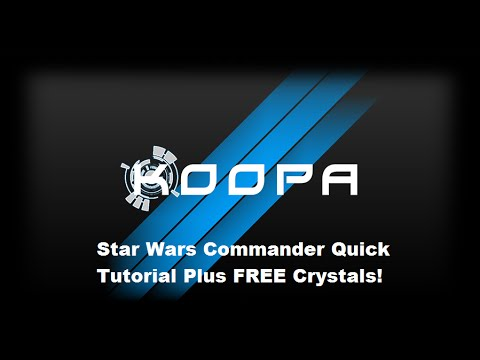 Star Wars Commander Quick Tutorial and FREE Crystals