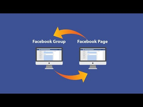 How to Link  Facebook Group to  Facebook Page