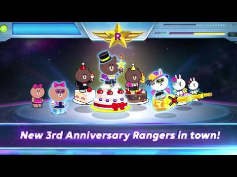 LINE RANGERS - 3rd year Anniversary Special Ranger released!