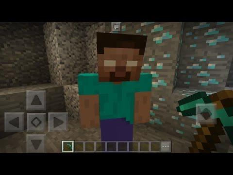 How To Spawn Herobrine in Minecraft Pocket Edition with Addons (I Found Herobrine Again!)