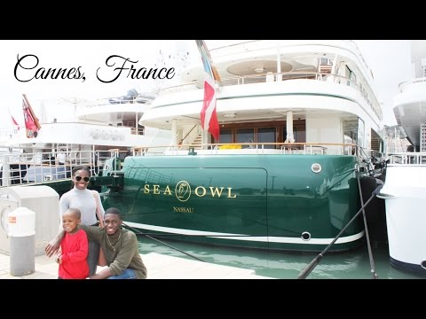 NICE, FRANCE: Cannes, France DAY trip/Celebrity Spotting!