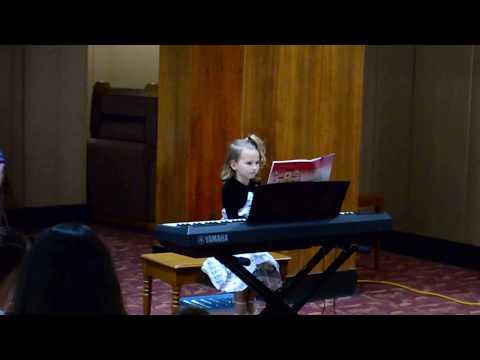 Lisa's 1st Recital (Age 6) - Classic Dance