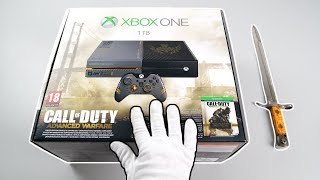 """Xbox One """"Call of Duty Advanced Warfare"""" Console Unboxing (Limited Edition)"""