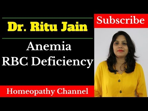 खून की कमी का इलाज - Homeopathic Treatment for Anemia and Low Hemoglobin - Causes ,Symptoms(lakshan)