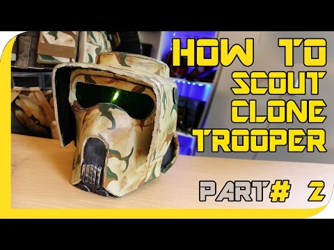 HOW TO: STAR WARS Clone Trooper/ Scout Cosplay - ( Part 2, Chest )