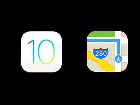 Taking a look at the redesigned Maps app in iOS 10