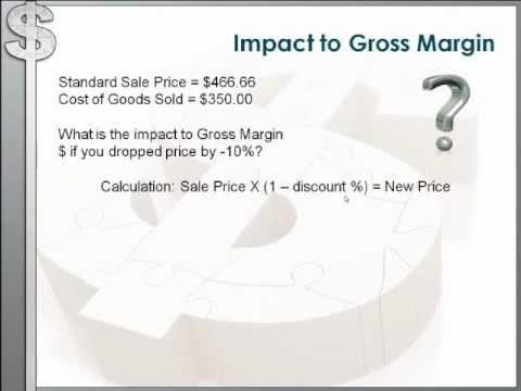 Understanding Gross Margins by David Reed
