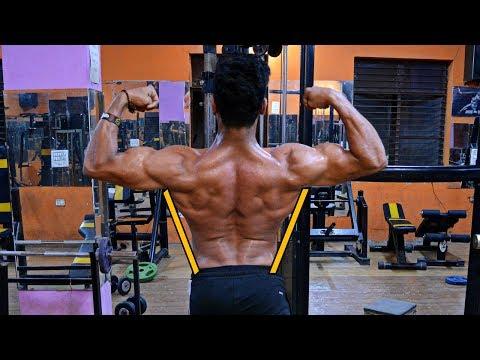 V-SHAPE Back Workout (BIGGER/THICKER)