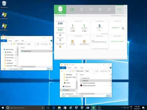 0patching Flash Player Remote Memory Corruption (CVE-2017-11282)