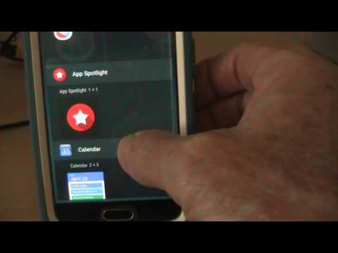 HOW TO: put a contact on home screen page Galaxy S6 phone