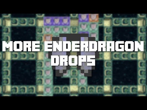 More EnderDragon Drops for Minecraft 1.12 | Command Block Module (Server friendly)