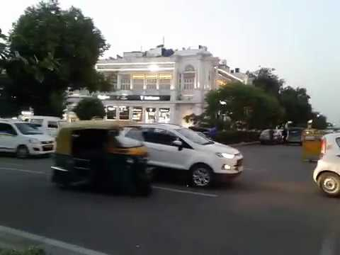 Connaught Place And Highest Tiranga At Central Park