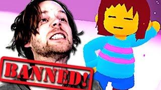 BANNED FROM ROBLOX UNDERTALE???