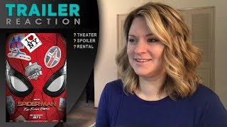 Download Spiderman: Far From Home - TRAILER REACTION Video