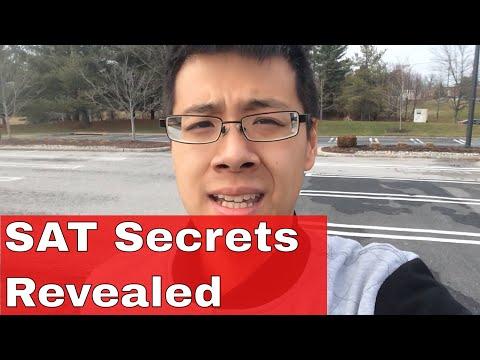 10 Secrets to Improving Your SAT Score