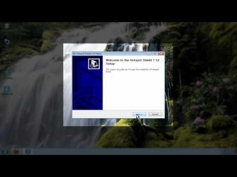 How to install & use Hotspot Shield