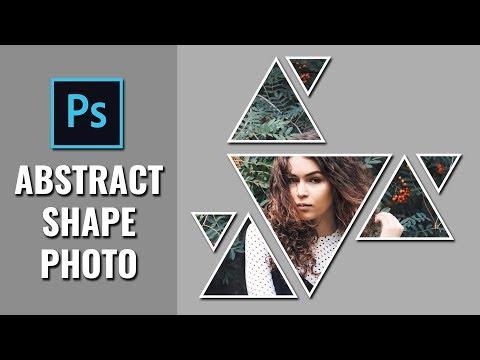 Geometric Abstract Shape Photo - Photoshop Tutorial