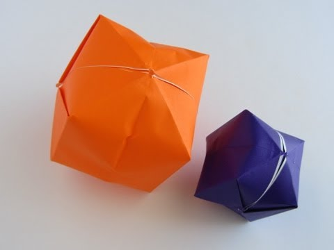 Origami Water Balloon