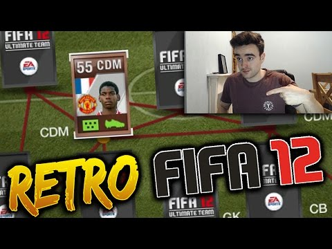 BRONZE 55 RATED PAUL POGBA!!! WITH UNBELIEVABLE STATS!!! Retro Fifa 12