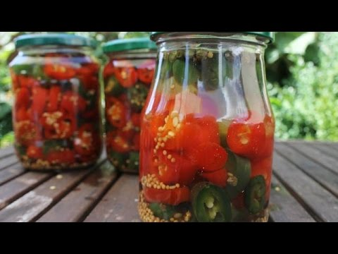 How to make pickled Jalapeños - english Grill- and BBQ-Recipe - 0815BBQ