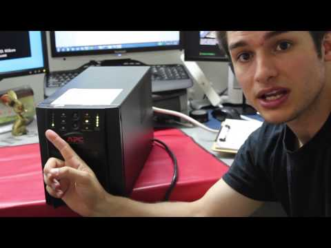 How to Properly Choose & Use a UPS (Uninterrupted Power Supply)