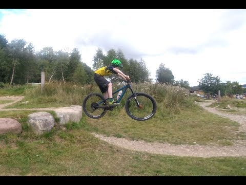 Comrie croft red DH - MTB scotland gimbal