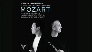 Mozart Flute  Harp Concerto Andantino  Philippe Bernold Emmanuel Ceysson