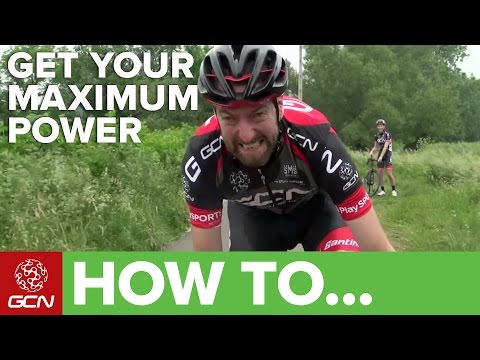 How To Find Your Maximum Sprint Power | GCN's Road Cycling Tips