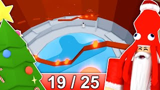 [19/25] CHRISTMAS STAGES in Tower of Hell... | Roblox