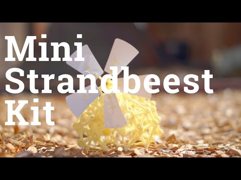 Mini Strandbeest Kit: Timelapse Build (w/commentary)