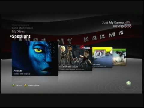 Custom Xbox 360 Dashboard Themes by Speedynady