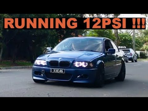BMW E46 TURBO BUILD   ep 5   12PSI AND DYNO INJECTOR FAIL