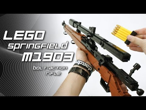 LEGO Springfield M1903 (+ USMC Scope and Pedersen Device)