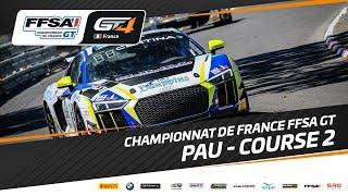 Championnat De France Ffsa Gt – Grand Prix De Pau – Course 2