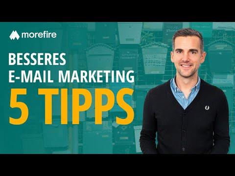 5 Tipps für mehr Klicks mit E-Mail Marketing | morefire