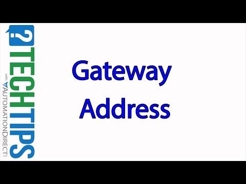 Tech Tip: Default Gateway Address Basics