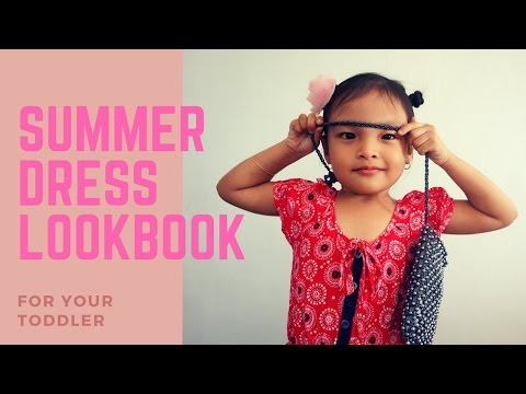 Summer Dress Lookbook for your toddler I Eleina Beros