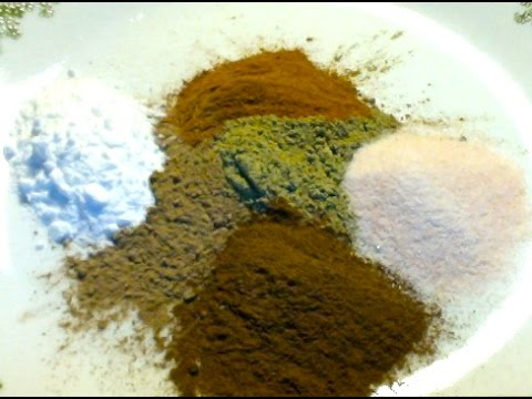 Natural Herbal Tooth Powder-Fluoride Free-Prevents Cavities