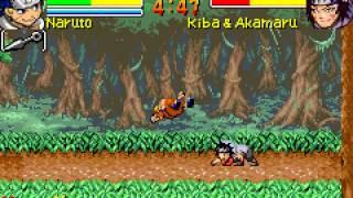 Game Boy Advance Longplay [074] Naruto: Ninja Council