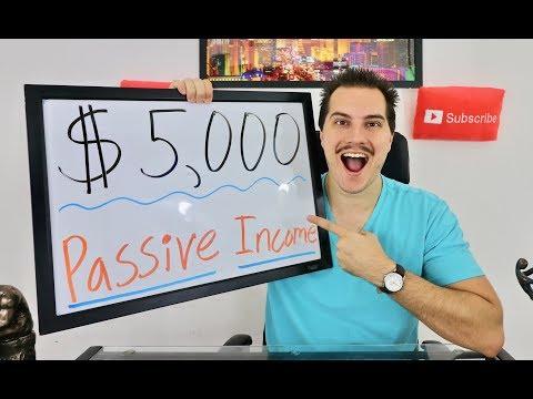 How I Make $5,000 Passive Income Per Month