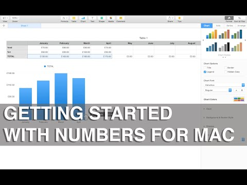 Getting started with Numbers for Mac - Apple Training