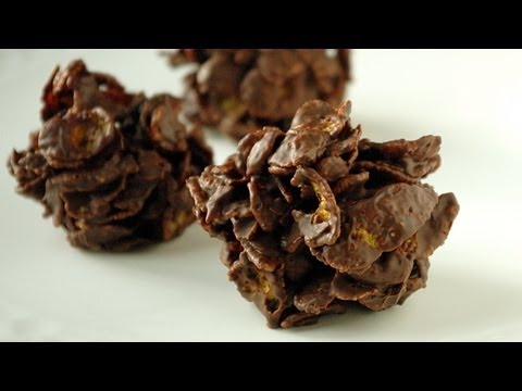 Chocolate crisps recipe French Roses des sables