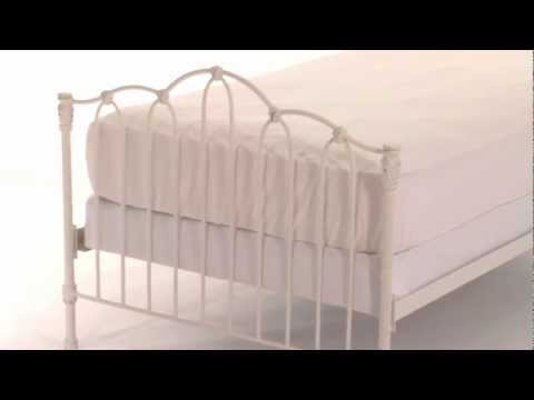 Explore Vintage-Inspired Furniture with this Iron Bed for Your Child's Room | Pottery Barn Kids